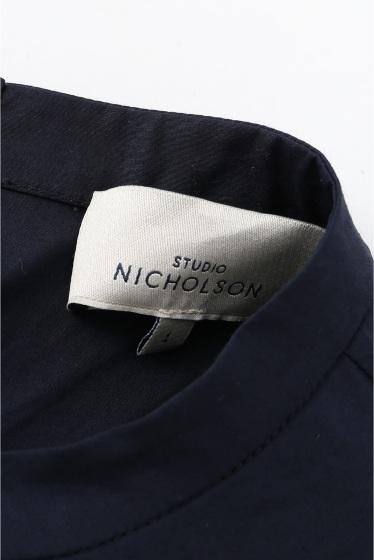 ���㡼�ʥ륹��������� ��STUDIO NICHOLSON/�������� �˥��륽��� VACK TO FRONT HIGH DENS/����˥å� �ܺٲ���10