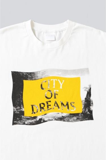 ���ƥ�����å� CITY OF DREAMS D/2 T-SHIRT �ܺٲ���3