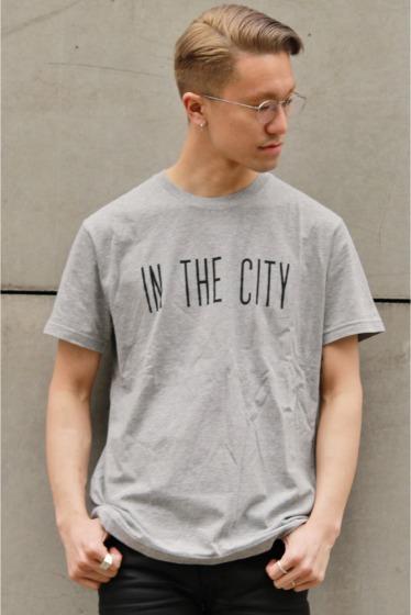 ���ƥ�����å� IN THE CITY S/S TEE ���졼A