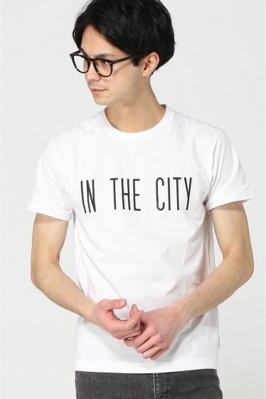 ���ƥ�����å� IN THE CITY S/S TEE �ۥ磻��