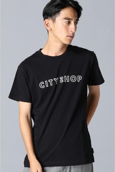 ���ƥ�����å� CITYSHOPD/1 SS TEE �֥�å�