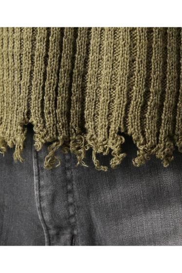 ���ƥ�����å� LABRAT Tharmal Knit Tops �ܺٲ���9