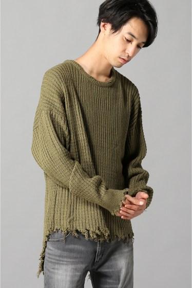 ���ƥ�����å� LABRAT Tharmal Knit Tops ������