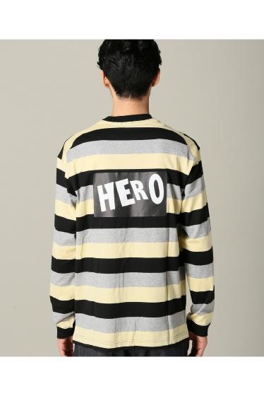 ���ƥ�����å� SOE TRICOLOR BORDER L/S T HERO �ܺٲ���4