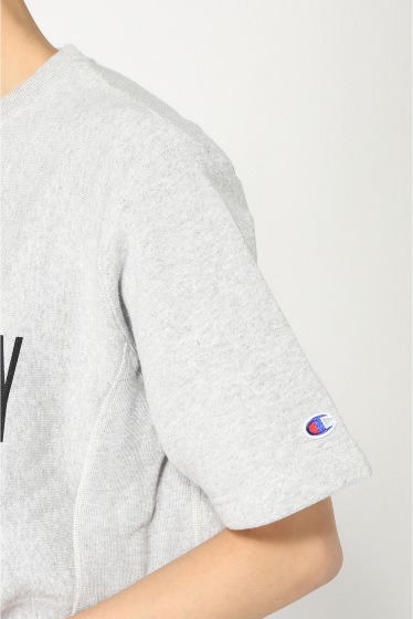 ���ƥ�����å� CHAMPION SWEAT C/N SHIRT W/ PRINT �ܺٲ���10