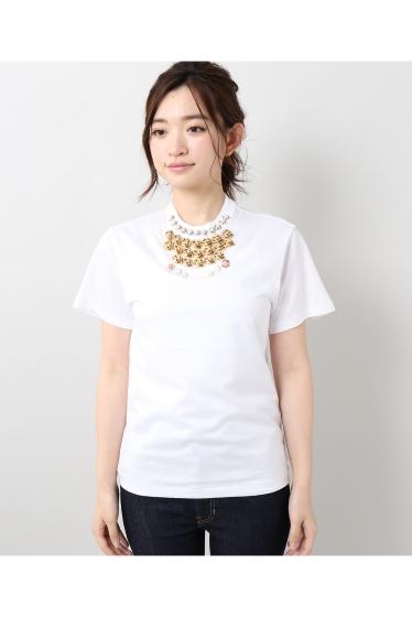 ���ƥ�����å� TOGA PULLA Silkette jersey T-shirts �ܺٲ���1