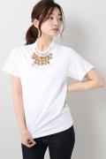���ƥ�����å� TOGA PULLA Silkette jersey T-shirts