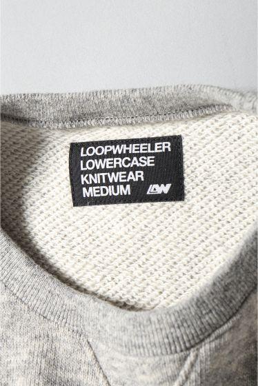 ���ǥ��ե��� LOOPWHEELER*LOWERCASE WOOL ���롼�ͥå��������å� / �롼�ץ����顼 �ܺٲ���15