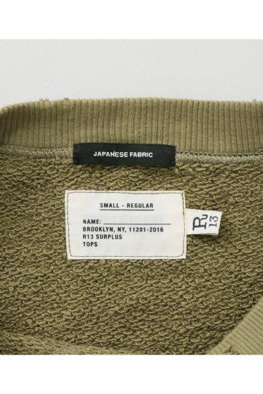 ���㡼�ʥ륹��������� ��R13/�����륵���ƥ������ main surplus sweat shirt �ܺٲ���13