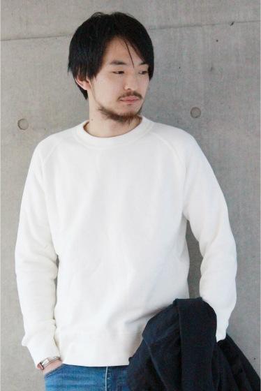 ���㡼�ʥ륹��������� ���塼�� MADE IN JAPAN ���롼�ͥå��������åȢ� �ۥ磻�� A
