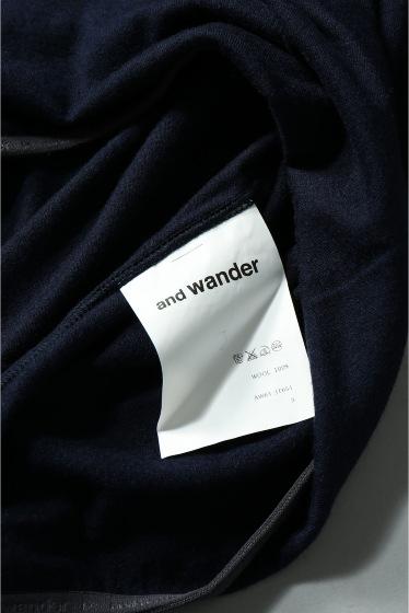 ���㡼�ʥ륹��������� ���塼�� and wander / ����ɥ�����: WOOL HIGH NECK T����� �ܺٲ���14
