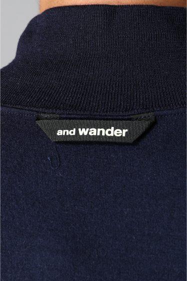 ���㡼�ʥ륹��������� ���塼�� and wander / ����ɥ�����: WOOL HIGH NECK T����� �ܺٲ���15