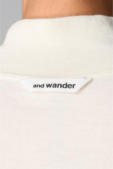 ���㡼�ʥ륹��������� ���塼�� and wander / ����ɥ�����: WOOL HIGH NECK T����� �ܺٲ���16