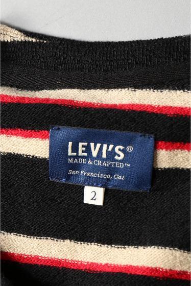 ���㡼�ʥ륹��������� ���塼�� LEVI'S MADE&CRAFTED: Long Sleeve ���ȥ饤��T����� �ܺٲ���10