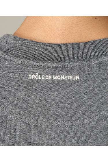 ���㡼�ʥ륹��������� ���塼�� DROLE DE MONSIEUR / �ɥ?��ɥ�å���: NYPM SWEAT SHIRT / �������å� �ܺٲ���10