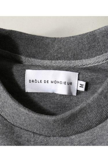 ���㡼�ʥ륹��������� ���塼�� DROLE DE MONSIEUR / �ɥ?��ɥ�å���: NYPM SWEAT SHIRT / �������å� �ܺٲ���13