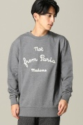 ���㡼�ʥ륹��������� ���塼�� DROLE DE MONSIEUR / �ɥ?��ɥ�å���: NYPM SWEAT SHIRT / �������å�