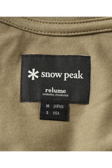 ���㡼�ʥ륹��������� ���塼�� Snow Peak / ���Ρ��ԡ���: Mountain Logo Pocket L/S / ���T �ܺٲ���15