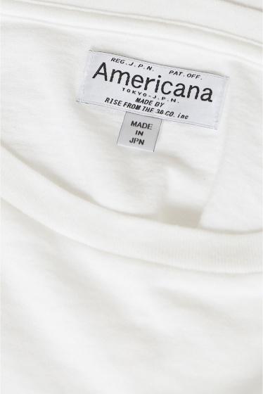 �ɥ����������� ���饹 AMERICANA �ܡ��ȥͥå�T����Ģ� �ܺٲ���12