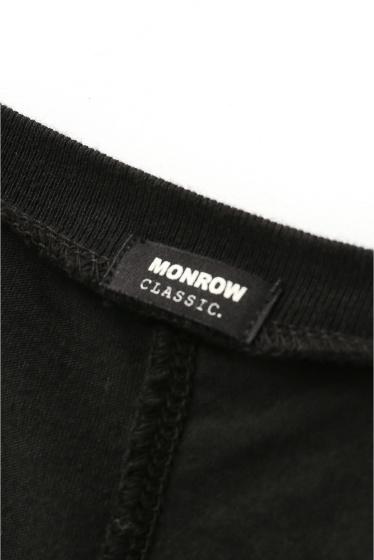 �ɥ����������� ���饹 MONROW V�ͥå� �磻��T����ġ� �ܺٲ���10