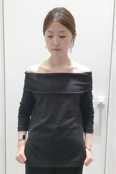 �����ԡ����ȥ��ǥ��� off shoulder ���ࡼ���ץ륪���С��� �֥�å�