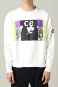 �������� C.E / �������� SATIN PATCH CREW NECK