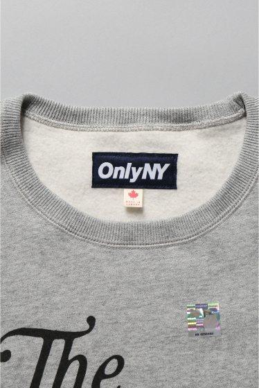 �������� ONLY NY*NYC CITY OF NEWYORK CREWNECK �ܺٲ���9