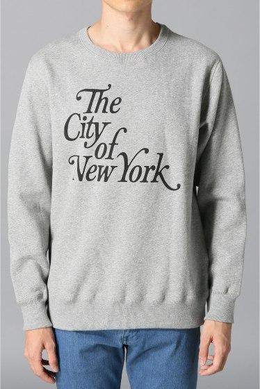 �������� ONLY NY*NYC CITY OF NEWYORK CREWNECK ���졼B