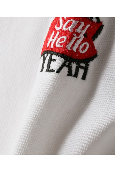 �������� SAYHELLO / �����ϥ? FUCK YEAH EMBROIDERY L/S TEE �ܺٲ���10