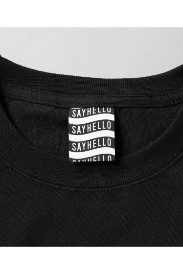 �������� SAYHELLO / �����ϥ? FUCK YEAH EMBROIDERY L/S TEE �ܺٲ���8