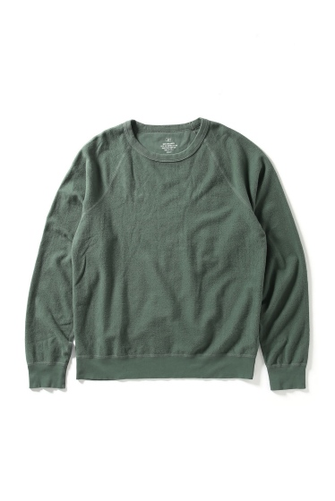 �����֥�������ʥ��ƥå� SUPIMA FLEECE CREW SWEATSHIRT ���꡼��