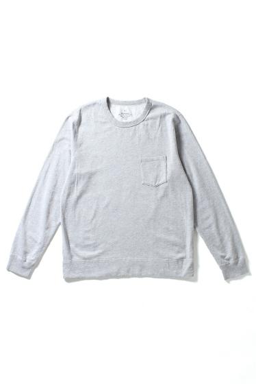 �����֥�������ʥ��ƥå� Heather Fleece Pocket Sweatshirt ���졼A
