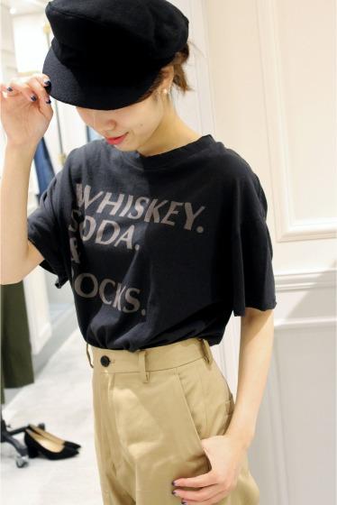 �ץ顼���� +8 PARIS ROCK whiskey tee�� �֥�å�