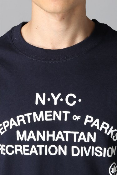 �������� ONLY NY*NYC DEPT. OF PARKS T-SHIRT �ܺٲ���3