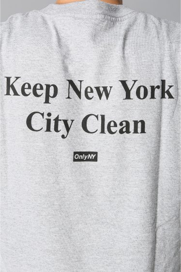 �������� ONLY NY*NYC CLEAN NYC T-SHIRT �ܺٲ���10
