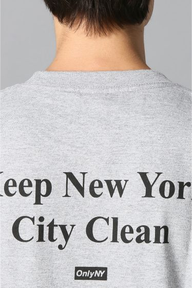 �������� ONLY NY*NYC CLEAN NYC T-SHIRT �ܺٲ���4