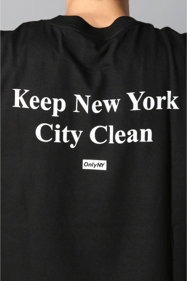 �������� ONLY NY*NYC CLEAN NYC T-SHIRT �ܺٲ���9