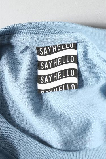 �������� SAYHELLO / �����ϥ? BARBED WIRE LOGO S/S TEE �ܺٲ���11