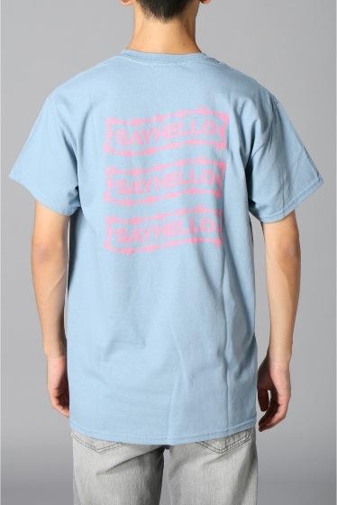 �������� SAYHELLO / �����ϥ? BARBED WIRE LOGO S/S TEE �ܺٲ���2