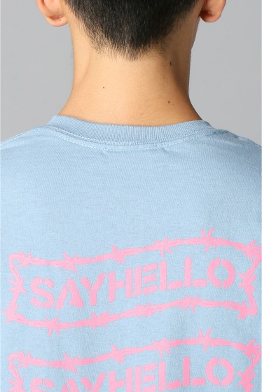 �������� SAYHELLO / �����ϥ? BARBED WIRE LOGO S/S TEE �ܺٲ���4