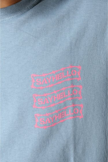 �������� SAYHELLO / �����ϥ? BARBED WIRE LOGO S/S TEE �ܺٲ���7