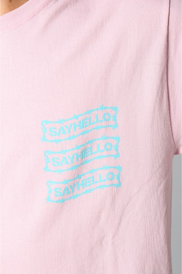 �������� SAYHELLO / �����ϥ? BARBED WIRE LOGO S/S TEE �ܺٲ���8