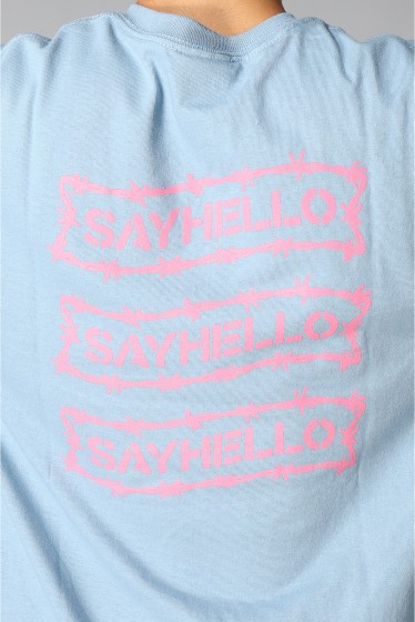 �������� SAYHELLO / �����ϥ? BARBED WIRE LOGO S/S TEE �ܺٲ���9