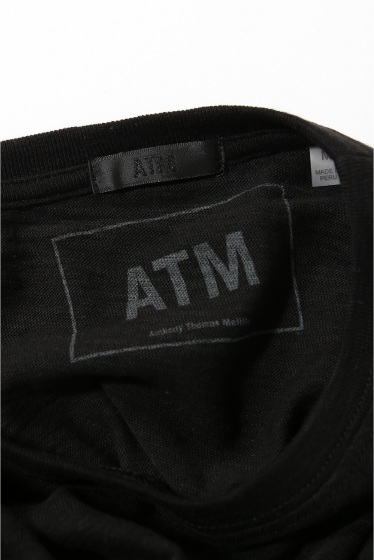 �������� ATM / Anthony Thomas Melillo (���󥽥ˡ����ȡ��ޥ������?) SLUB CREWNECK S/S �ܺٲ���8