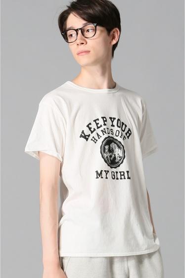 ���㡼�ʥ륹��������� WHITE LINE / �ۥ磻�ȥ饤��:WL T-Shirts(FJD) �ۥ磻��