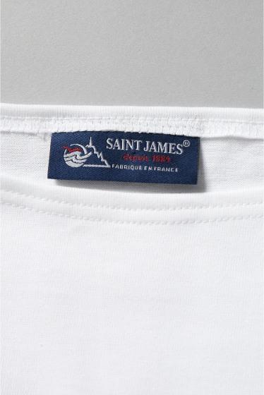 ���㡼�ʥ륹��������� SAINT JAMES / ����ȥ������ॹ : NAVEL Shirt 7�֥��� �ܺٲ���13