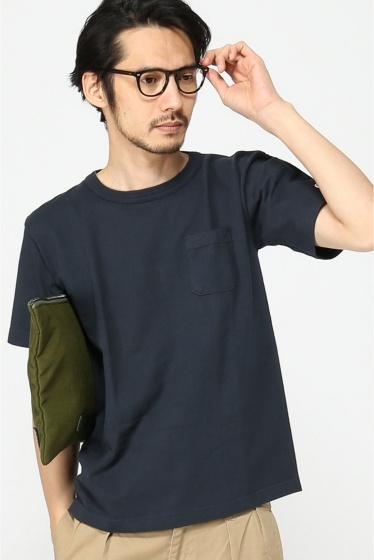 ���㡼�ʥ륹��������� 16SS Champion T1011 JS Exclusive Pocket T-SHIRTS/ �����ԥ��� �ݥ�Tee �ͥ��ӡ�