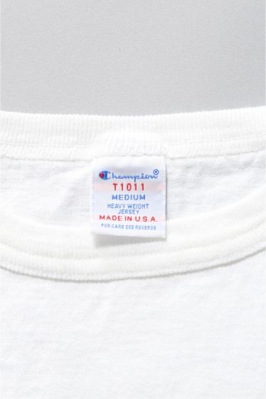 ���㡼�ʥ륹��������� ���ɲá�Champion T1011 JS Exclusive Pocket T/ �����ԥ��� �ݥ�Tee �ܺٲ���20
