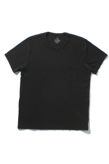 �����֥�������ʥ��ƥå� SKU HEAVY SUPIMA JERSEY POCKET TEE �֥�å�