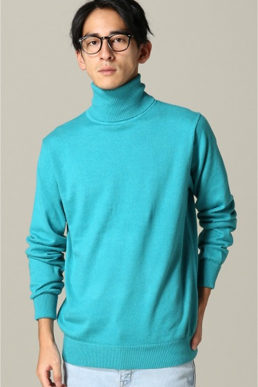 ���ƥ�����å� CITY TURTLE SWEATER ���å����֥롼 B